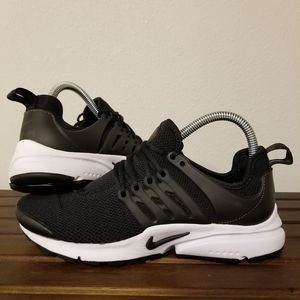 Nike Air Presto Black White size 8 women